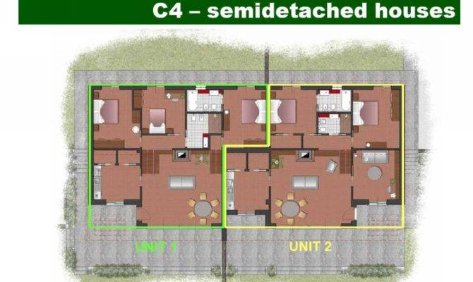 Home Plans Semi Detached Floor