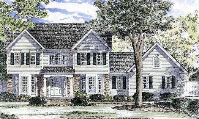 Home Plans Southern House Traditional More