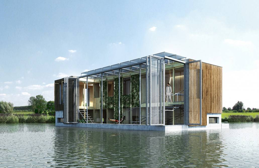 Projects Self Sufficient Floating House