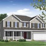Home Rendering House Illustration Brookstone Series