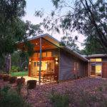Home Skillion Roof Kyneton House Marcus Reilly Architects