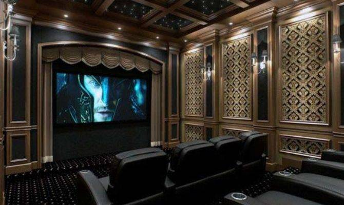 Home Theater Design Ideas Men Movie Room Retreats