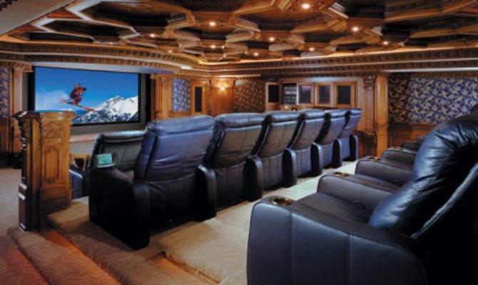 Home Theater Interiors Rooms Diy Movie