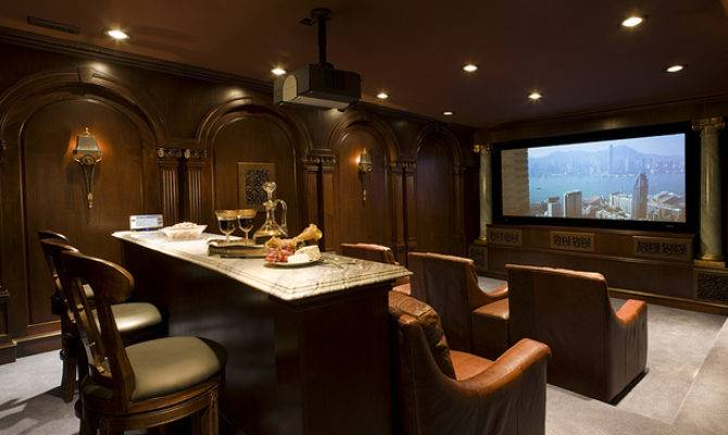 Home Theaters Luxury Decorating Excellence
