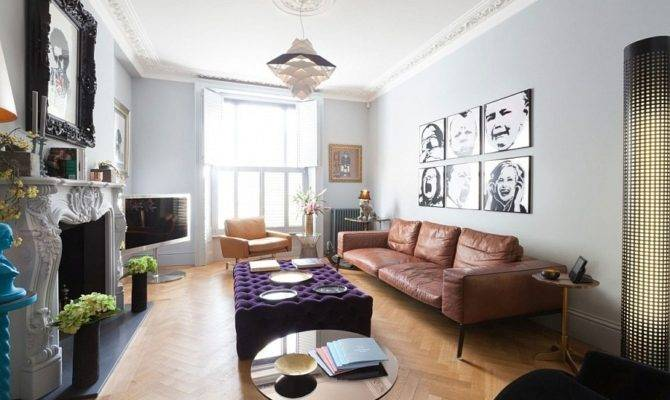 Home Victorian London Transformed Into Indulgent Bachelor
