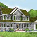Home Wrap Around Porch Country House Plans