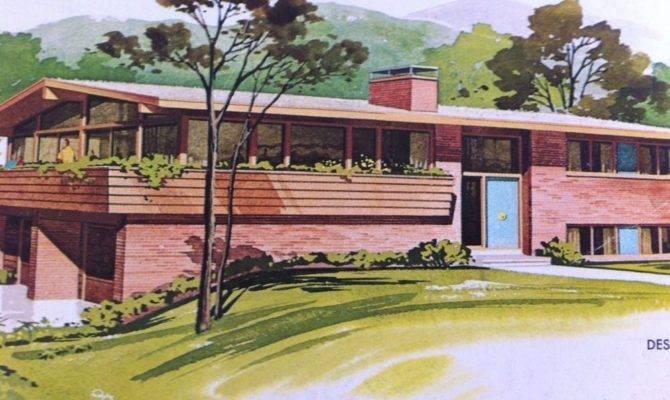 Homes Mid Century Modern House Plans Richard Pollman Designs Ranch Home Plans Blueprints 85116