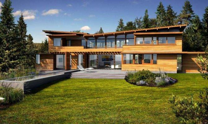 Homes Modern Eco Home Green Design Sustainable