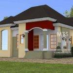 Homes Public Designs Ejike Bedroom Bungalow
