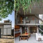 Homes Small Courtyards Home Decor Design
