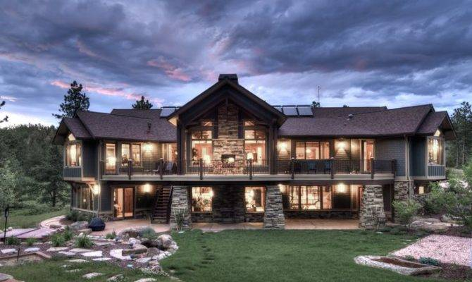 Homes Traditional Exterior Dream Houses Design House Plans