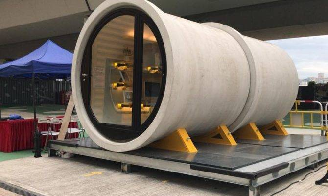 Hong Kong Tiny Apartment Created Old Water Pipe Curbed