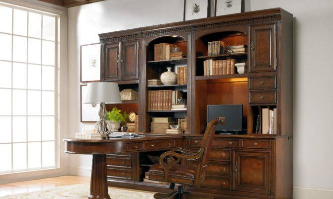 Hooker Furniture Home Office European Renaissance Open Hutch