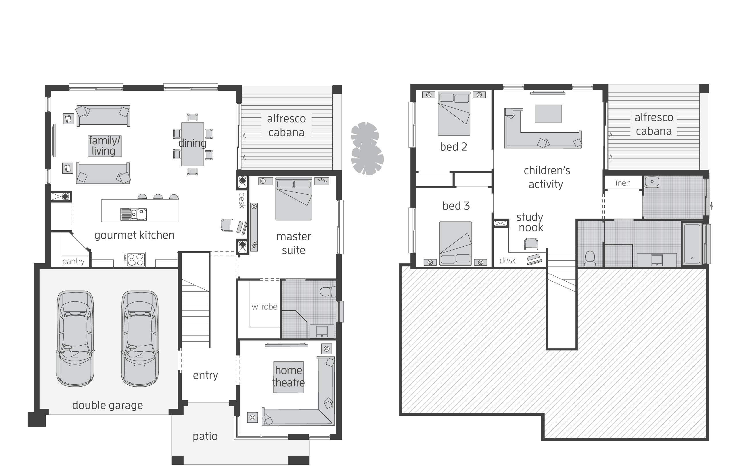 Horizon Floorplans Mcdonald Jones Homes