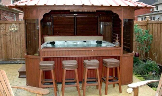 Hot Tub Gazebo Plans Seats Home Interior Exterior