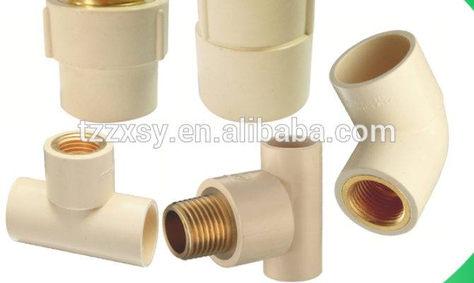 Hot Water Supply Cpvc Pvc Plastic Sanitary Pipe Fittings