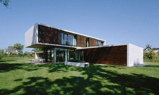 House Austria Contemporary Austrian Home Combines Sculptural