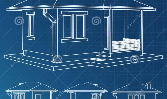 House Blueprint Vector Project