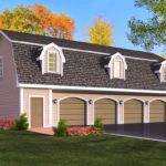 House Car Garage Plans Living Quarters