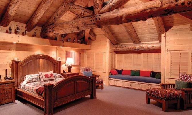 House Day Million Bedroom Log Cabin