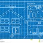 House Design Blueprints Floor Plan Home Blueprint