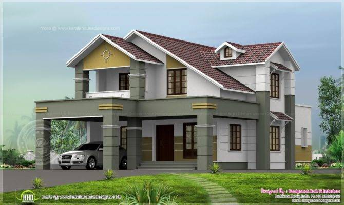 House Design Cent Plot Kerala Home