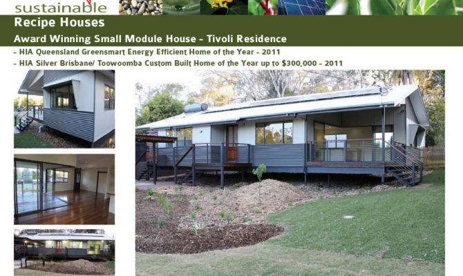 House Designs Sustainable Recipe Houses