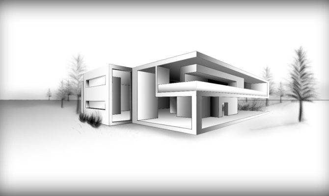 House Drawing Pencil Architecture Design