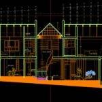 House Dwg Plan Autocad Designs Cad