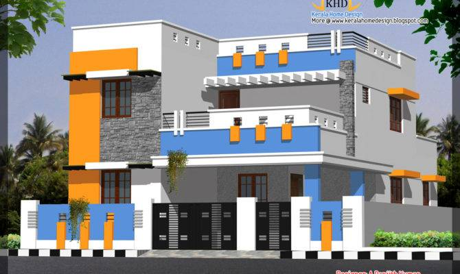 House Elevations Over Kerala Home Design