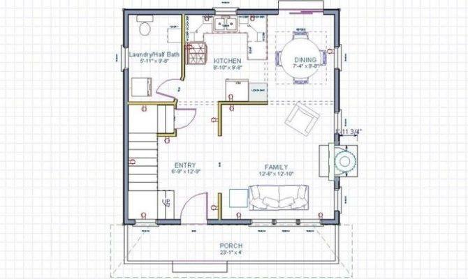 House First Floor Jan Cst Tiny
