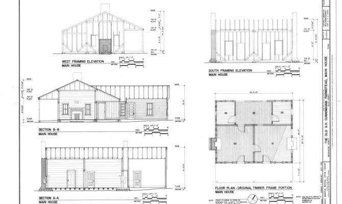 House Floor Plan Elevations