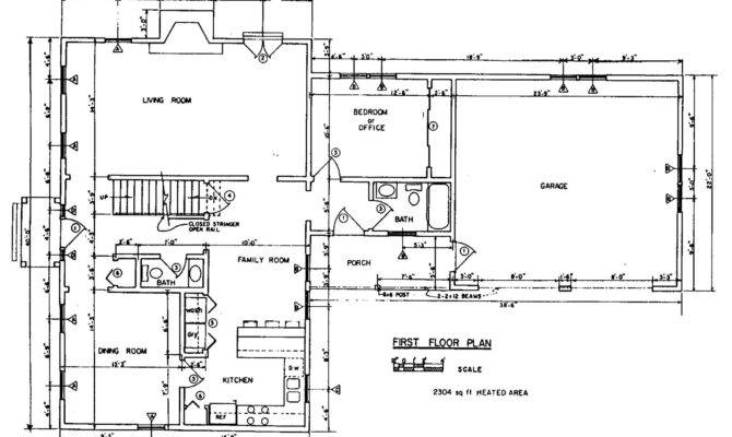 House Floor Plan New Home Building