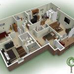 House Floor Plans Bedroom Bathroom Home