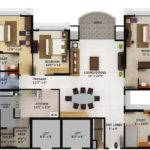 House Floor Plans Color Home Deco