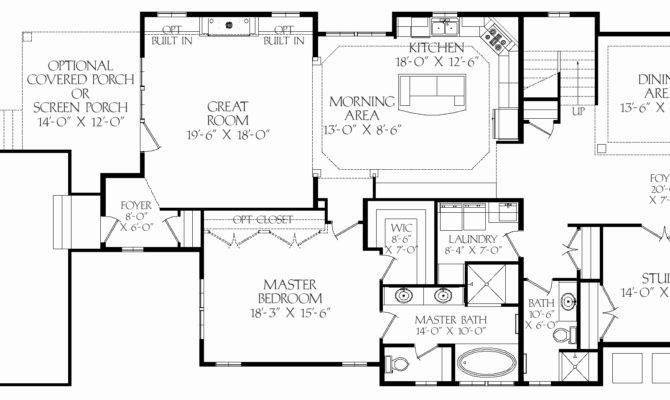 House Floor Plans Square Feet