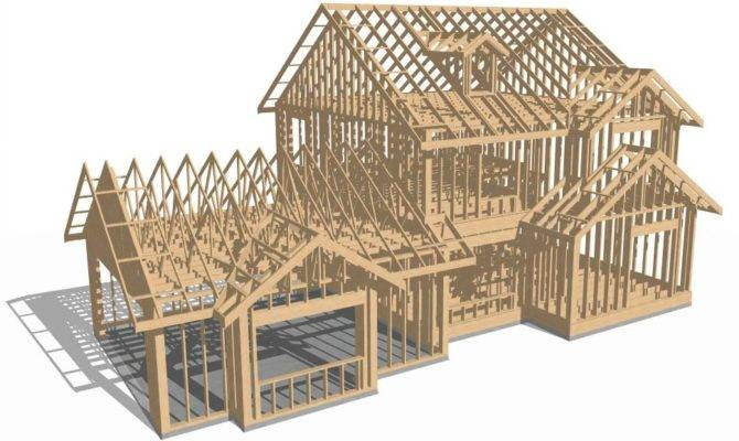 House Framing Plans Home Design Style