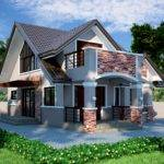 House Home Design Bungalow Designs Philippines Type