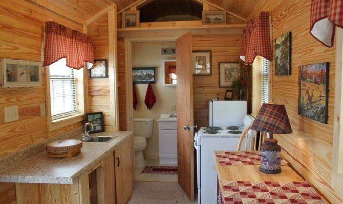 House Ideas Guest Tiny Houses Interiors Cabin