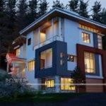 House Interior Exterior Design Rendering Modern Home