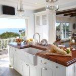 House Kitchen Classic Beach Flooded Natural