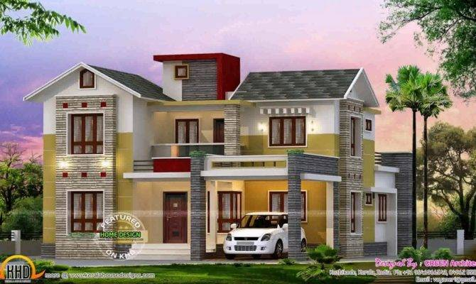 House Parapet Design Kerala Youtube