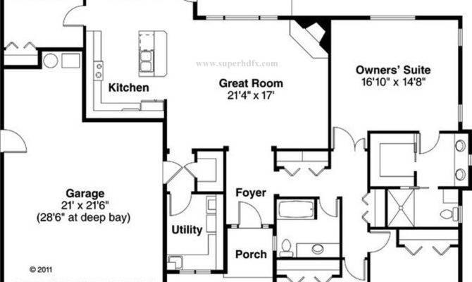 House Plan Above Superhdfx