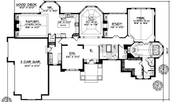 House Plan Bedrooms Bath