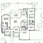 House Plan Bright Beautiful One Story Square Feet