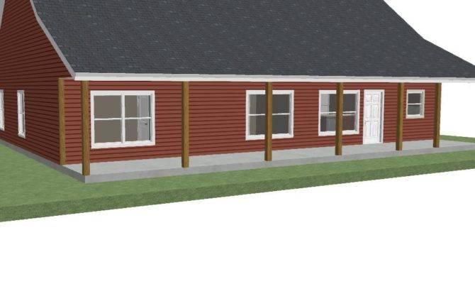 House Plan Custom Story Ranch Shouse Style