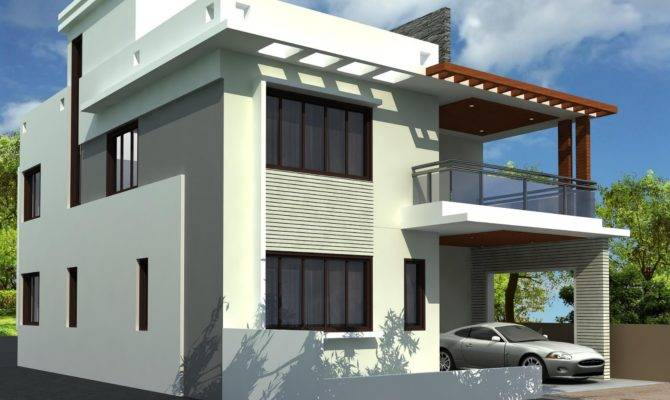 House Plan Designer Contemporary Duplex Design