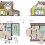 House Plan Dwg Autocad Drawing