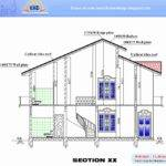 House Plan Elevation Section Homes Floor Plans