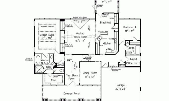 House Plan First Floor Master Square Feet Bedrooms